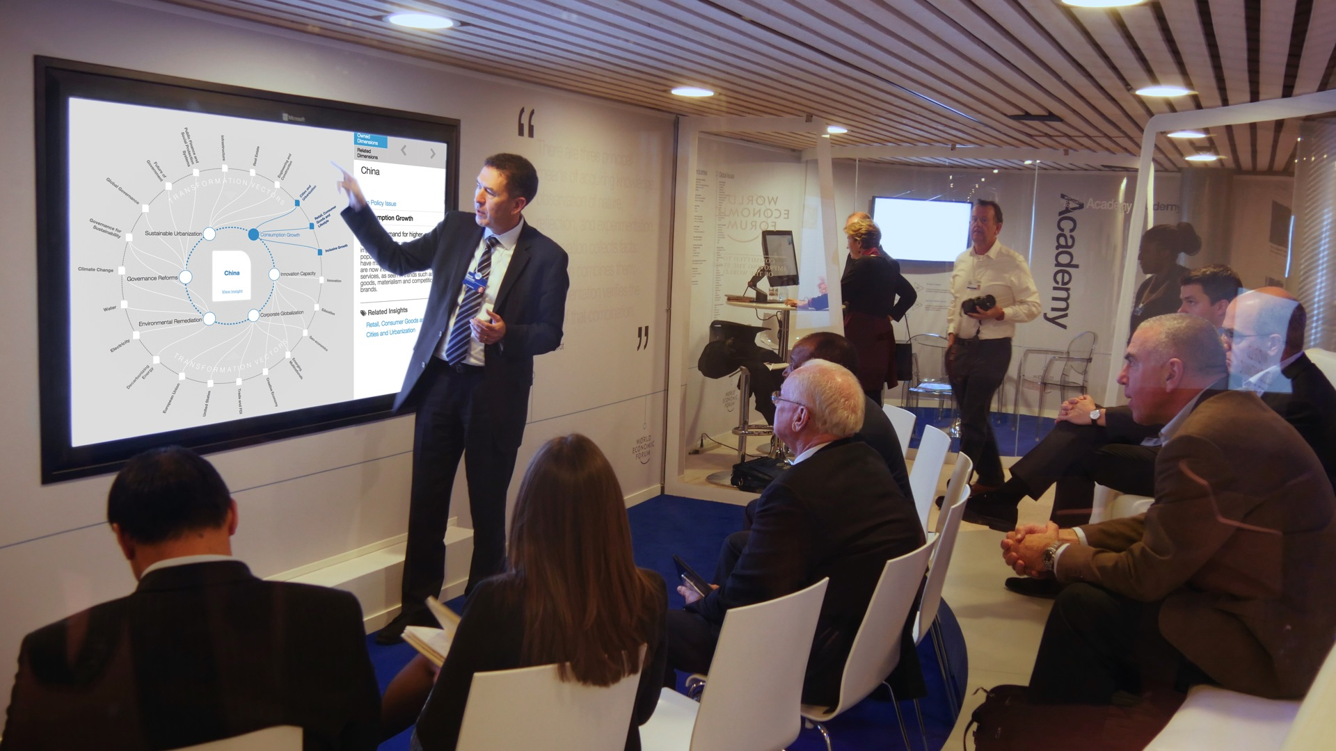 Transformation Maps launch at the World Economic Forum in Davos
