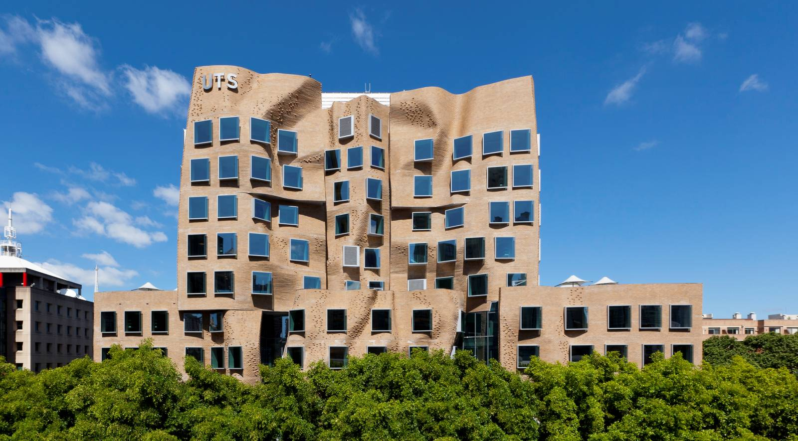 UTS Business School's Frank Gehry building