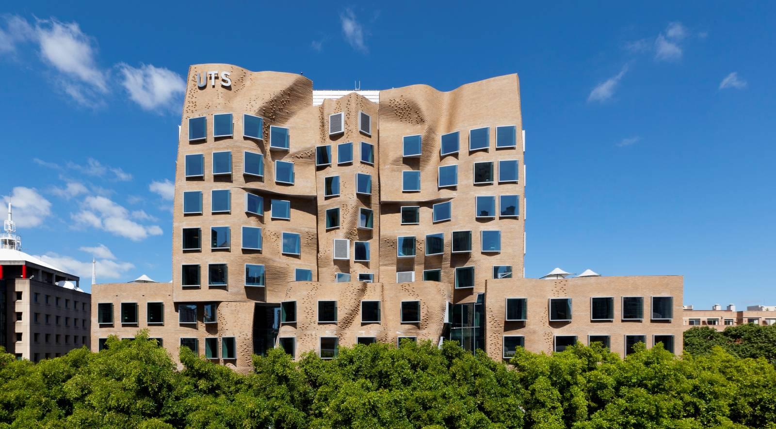 UTS Business School's Frank Gehry building